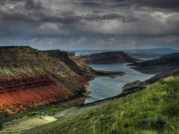 Photograph - Utah - Flaming Gorge 005 by Lance Vaughn