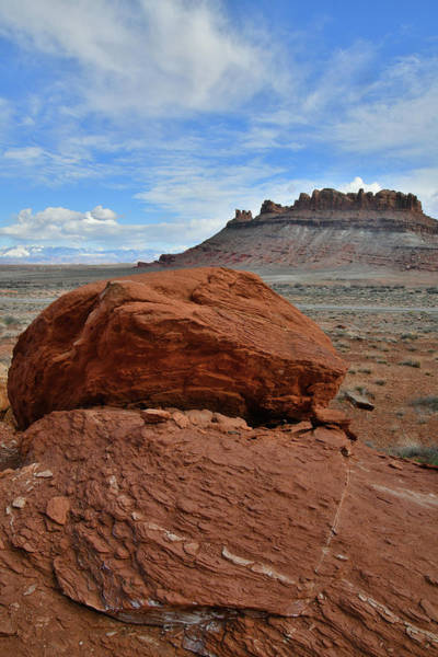 Photograph - Utah's Red Rock Along Highway 313 by Ray Mathis