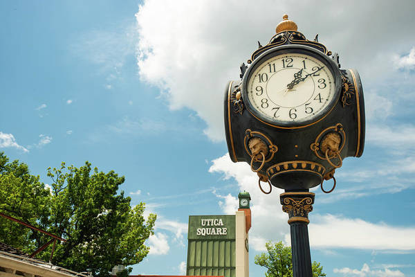 Photograph - Utica Square - Tulsa Oklahoma by Gregory Ballos