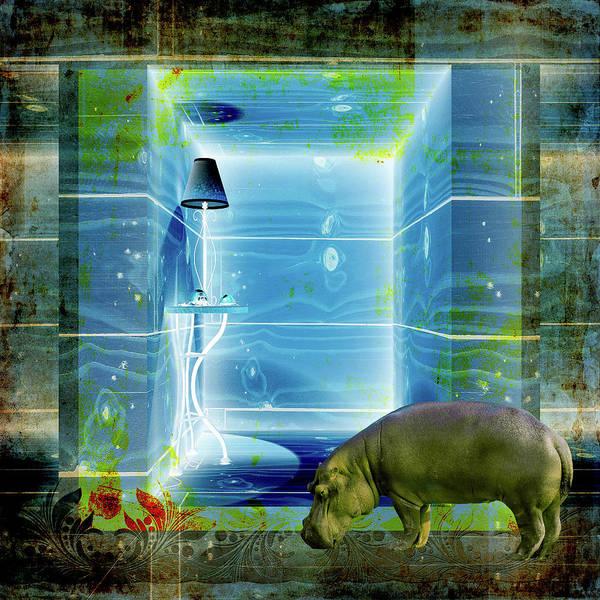 Wall Art - Mixed Media - Utopi-aquarium One by Paula Ayers