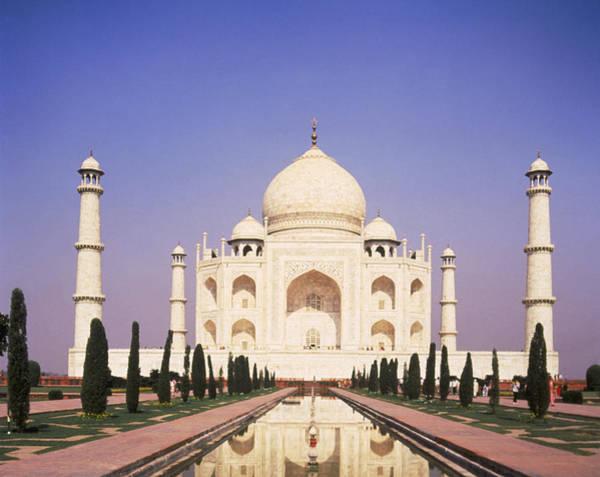 Taj Mahal Photograph - Uttar Pradesh, Agra Taj Mahal, India by Dave Jacobs
