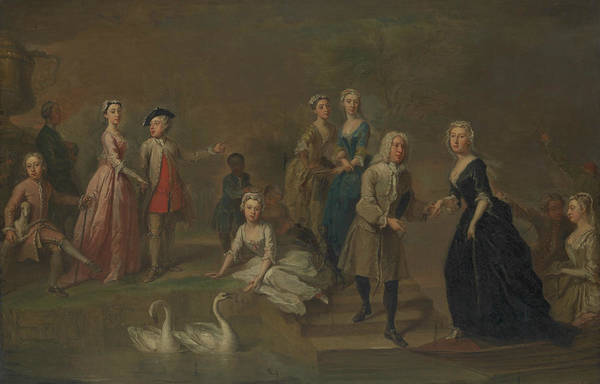 Painting - Uvedale Tomkyns Price And Members Of His Family by Bartholomew Dandridge