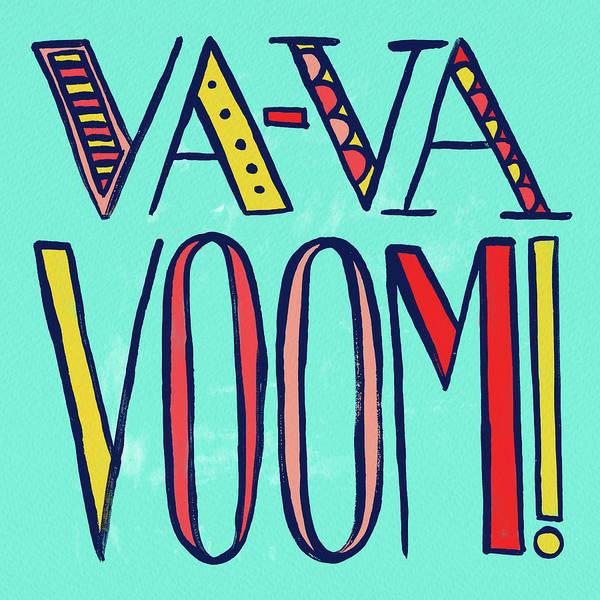 Painting - Va Va Voom by Jen Montgomery