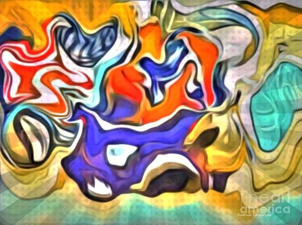 Digital Art - Va-va-voom by Kathie Chicoine