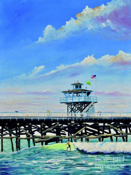Painting - Vacation San Clemente by Mary Scott