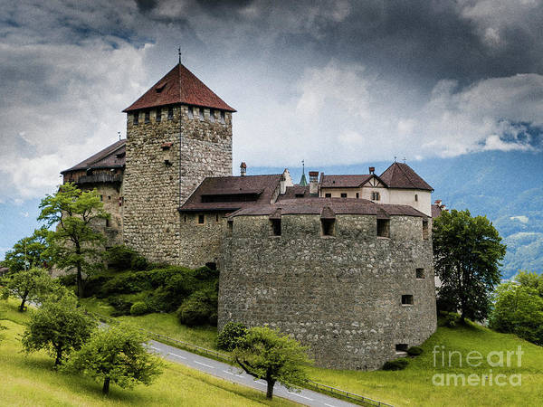 Schloss Wall Art - Photograph - Vaduz Castle by DiFigiano Photography