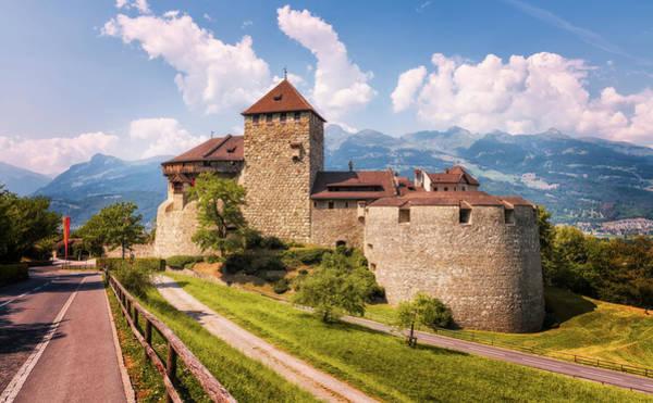 Photograph - Vaduz Castle - Liechtenstein by Nico Trinkhaus