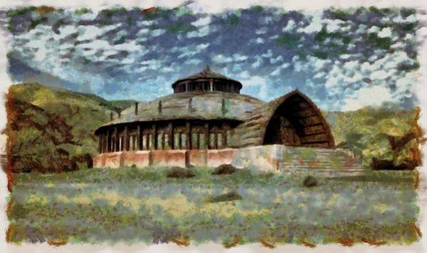 Digital Art - Vaes Dothrak Town Hall by Mario Carini