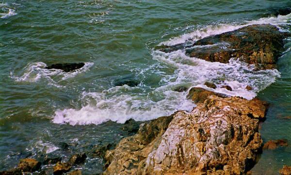 Goa Photograph - Vagator Beach, Goa, India by Photograph By Narendra N. Acharya