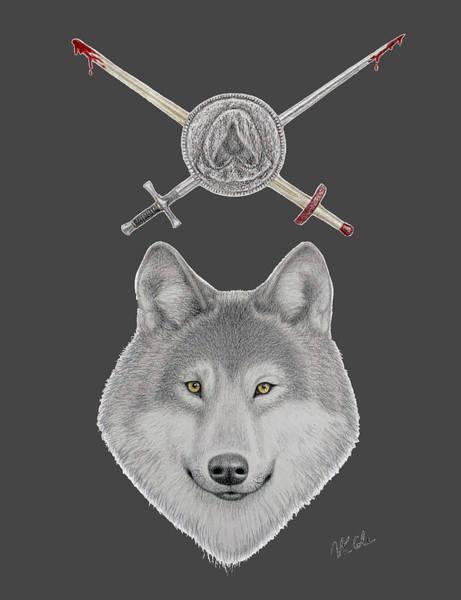 Drawing - Valar Morghulis by Vanessa Cole