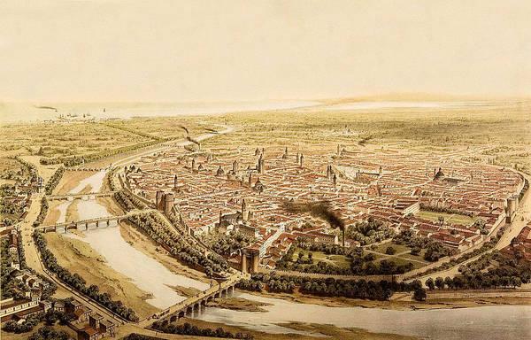 Photograph - Valencia 1832 by Andrew Fare