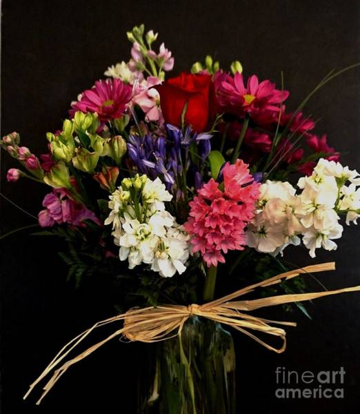 Wall Art - Photograph - Valentine Bouquet by Marsha Heiken