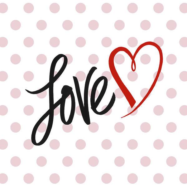 Wall Art - Mixed Media - Valentine's Love by Sd Graphics Studio