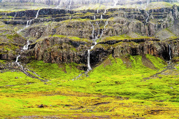 Photograph - Valley Cascades - Iceland by Marla Craven