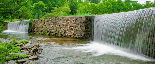 Photograph - Valley Creek Waterfall Panorama by Bill Cannon