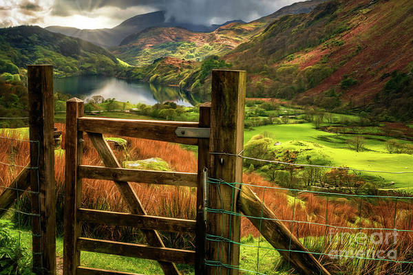 Wall Art - Photograph - Valley Gate Snowdonia by Adrian Evans