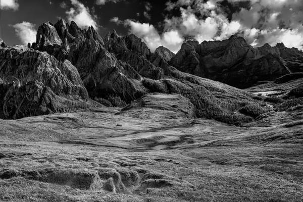 Photograph - Valley In The Dolomites by Jon Glaser