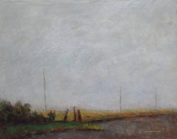 Kavanaugh Painting - Valley In The Mist #1 by Keith Kavanaugh