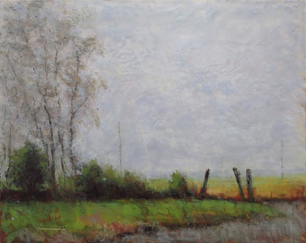 Kavanaugh Painting - Valley In The Mist #2 by Keith Kavanaugh