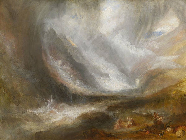 Wall Art - Painting - Valley Of Aosta by Joseph Mallord William Turner