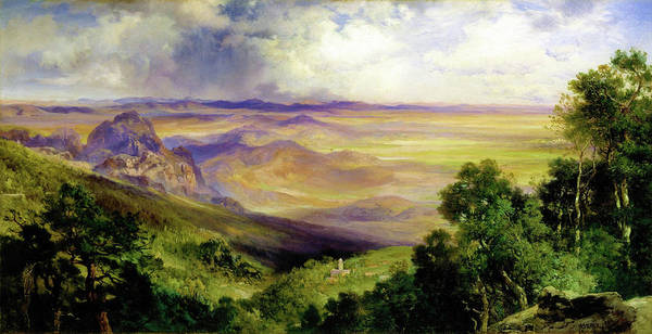 Wall Art - Painting - Valley Of Cuernavaca - Digital Remastered Edition by Thomas Moran
