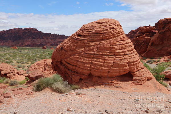 Wall Art - Photograph - Valley Of Fire Beehive Rock by Christiane Schulze Art And Photography