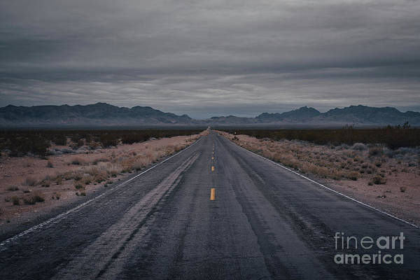 Photograph - Valley Of Fire Highway  by Michael Ver Sprill
