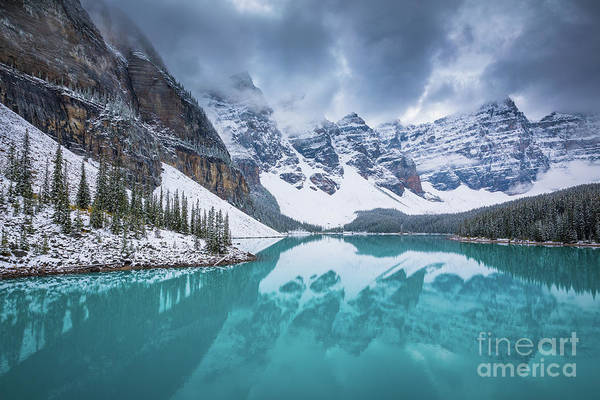 Wall Art - Photograph - Valley Of The Ten Peaks by Inge Johnsson
