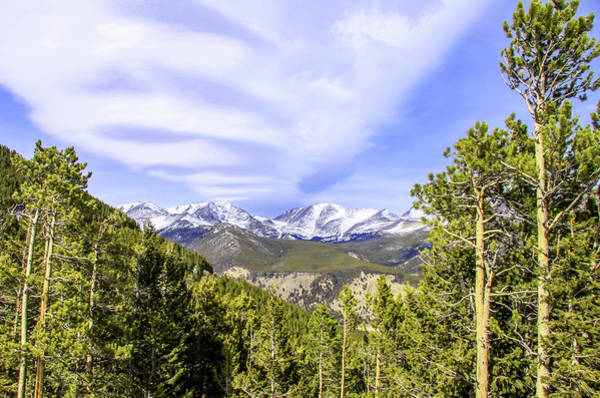 Photograph - Valley View Of The Rocky Mountains by Dawn Richards