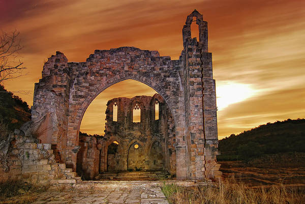 Christianity Photograph - Vallsanta Monastery by Nicolas Moulin Photography