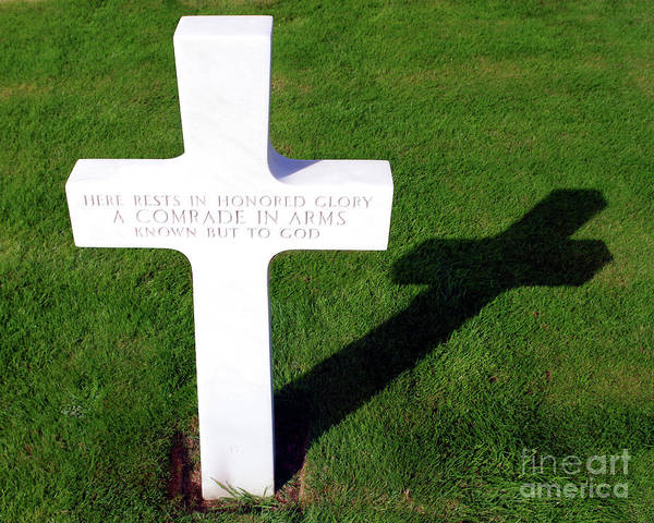 Wall Art - Photograph - Valor And Sacrifice, An Unknown American Soldier by Douglas Taylor