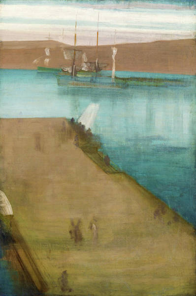 Wall Art - Painting - Valparaiso Harbor - Digital Remastered Edition by James McNeill Whistler