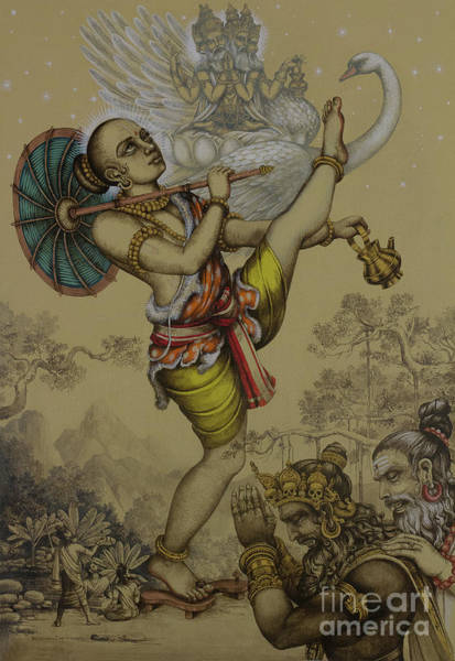Wall Art - Painting - Vamana Avatar by Vrindavan Das