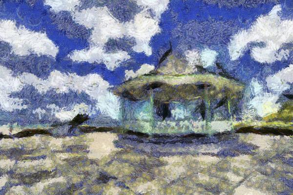 Wall Art - Photograph - Van Gogh Bandstand  by David Pyatt