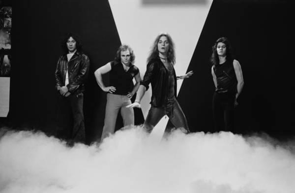 Photograph - Van Halen by Fin Costello