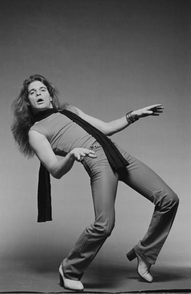Photograph - Van Halen Posed by Fin Costello
