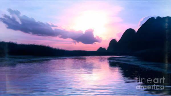 Wall Art - Photograph - Van Long Digital Tones Vietnam Nature  by Chuck Kuhn