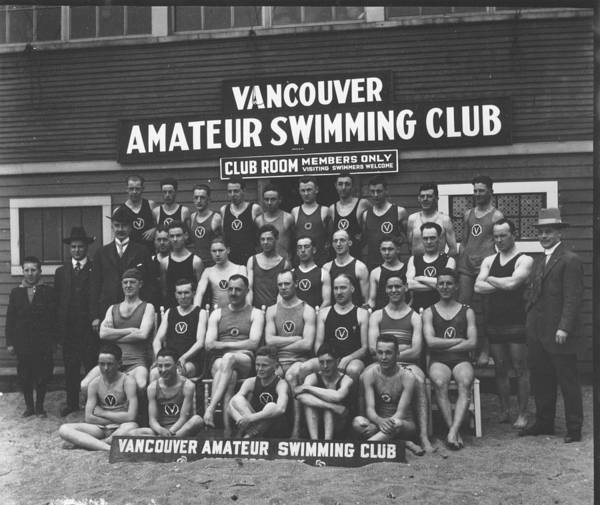 Painting - Vancouver Amateur Swimming Club 1920 by Celestial Images