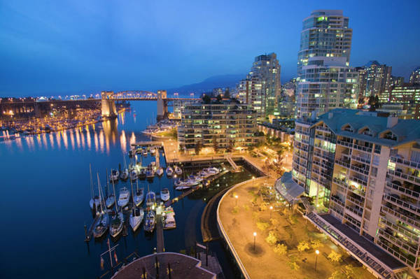 False Creek Wall Art - Photograph - Vancouver, British Columbia Canada by Lucidio Studio, Inc.