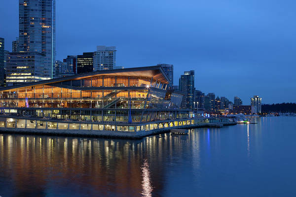 Convention Wall Art - Photograph - Vancouver Convention Center by Dan prat