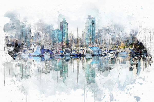 Photograph - Vancouver Morning by Marilyn Wilson