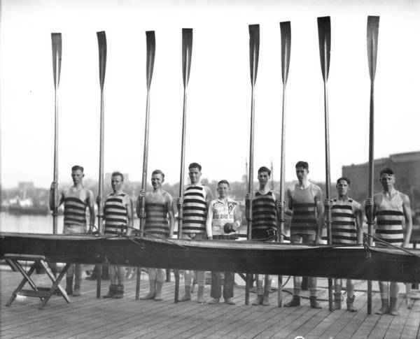 Painting - Vancouver Rowing Club 1928 A by Celestial Images