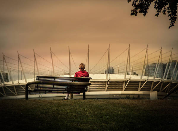 Photograph - Vancouver Stadium In A Golden Hour by Juan Contreras