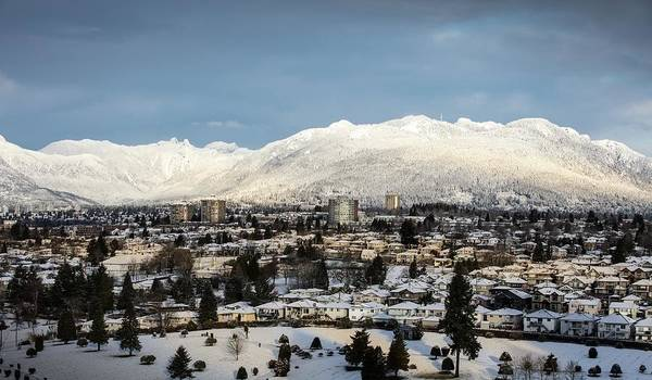 Photograph - Vancouver Winterscape by Juan Contreras