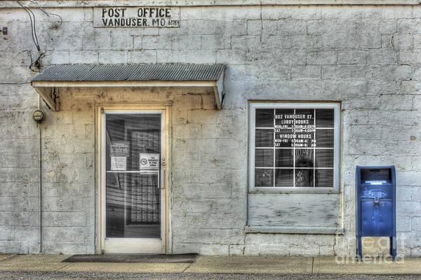 Wall Art - Photograph - Vanduser Post Office by Larry Braun