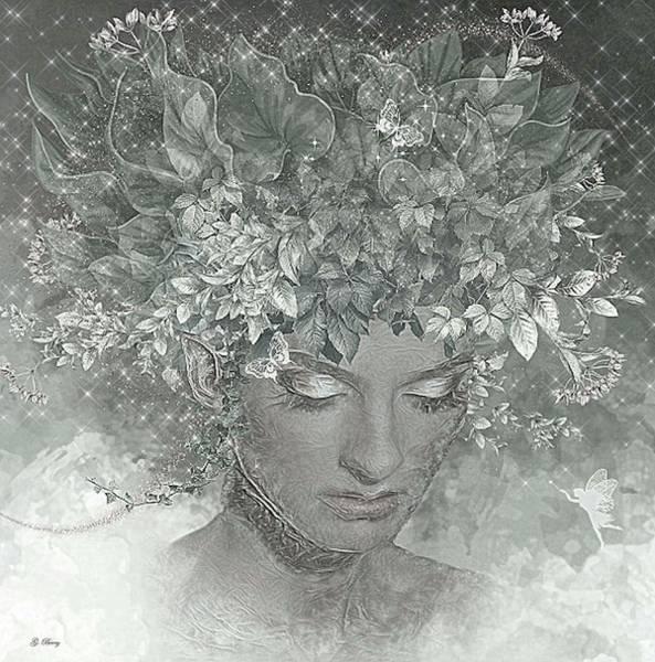 Wall Art - Mixed Media - Vanessa 01 by G Berry