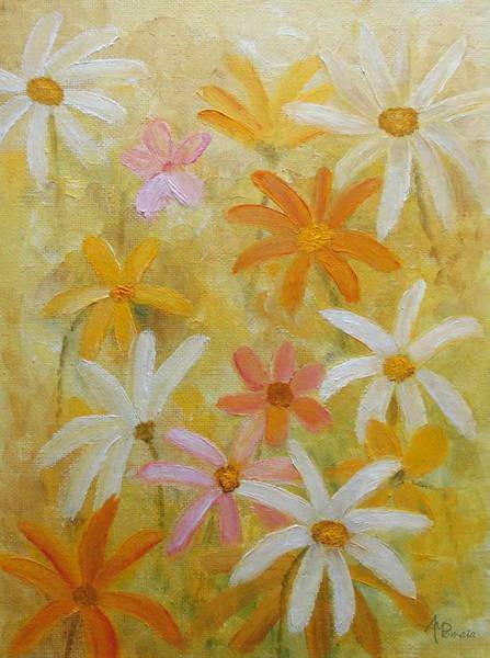Painting - Vanilla Strawberry Lemon Cream by Angeles M Pomata