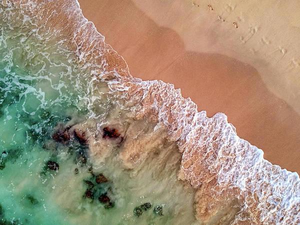 Photograph - Vanishing Footprints by Christopher Johnson