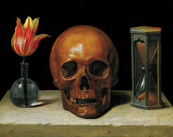 Wall Art - Painting - Vanitas Still Life, 1671 by Philippe de Champaigne