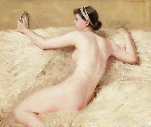 Vice Painting - Vanity by Albert von Keller